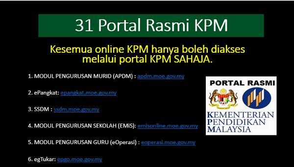 31 Portal Kpm Apdm Epangkat Ssdm Eoperasi Eg Tukar Saps Justyou